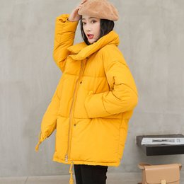 Coating Thickness Australia - 2018 Winter Coat Women Solid Medium-Long Wadded Harajuku Snow Parka thickness Cotton Warm Down Jacket Plus Size Outwear C18110901