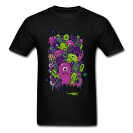 Children White Tees Australia - Monsters Children Print T-shirt Men Oversized T Shirt Funny Tshirt Cartoon Hip Hop Tee April FOOL DAY Cotton Top Clothing