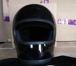 ae44e7c0c FRP motocicleta vintage retro casco completo para la suciedad suciedad cruz  motorista seguro casco de bicicleta protectora divertido divertido