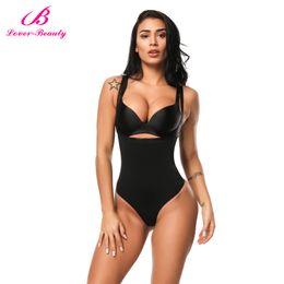 9458c387100 Lover Beauty Women Full Body Shaper Waist Cincher Underbust Thong Corset  Bodysuit Jumpsuit Shapewear Seamless Pants Corset C