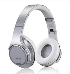 Wireless Headphones Headband Australia - SODO MH1 wireless Bluetooth Headphones Headset NFC 2in1 Twist-out With FM Radio  AUX TF Card MP3 Sports Magic Headband 39-EM DHL