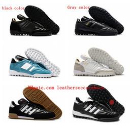 7bf8ea36b 2018 original mens soccer cleats copa MUNDIAL TF TURF GOAL INDOOR soccer  shoes Mundial Team Astro Craft football boots scarpe calcio cheap