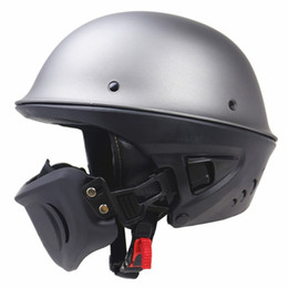 $enCountryForm.capitalKeyWord UK - Zombies Racing Rouge Helmet DOT approved moto helmet With Detachable mask design good looking and safety open face helmet