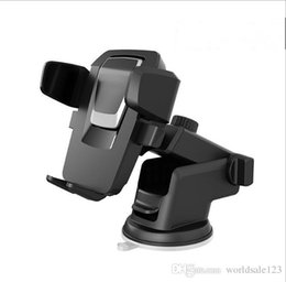 Discount iphone car holder transmitter - Dashboard Car Phone Holder Universal Sticky GPS Support Suction 360 Rotate Adjustable 3.5-6 inch Bracket For iPhone Sams