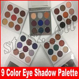 $enCountryForm.capitalKeyWord UK - Fall Collection Kyshadow eyeshadow Pressed Powder Eye shadow Palette Bronze Burgundy holiday the purple palette blue honey Makeup 9 Colors