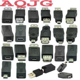 Discount mp3 converter car - Adapter micro usb switch male to female Usb male to female 360 Degree Mini usb2.0 For Car Mp3 Phones Converter Convenien