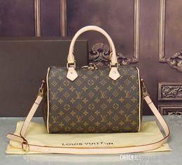51572087fb6d 2018 styles Handbag Famous Designer Brand Name Fashion Leather Handbags  Women Tote Shoulder Bags Lady Leather Handbags Bags purse40392