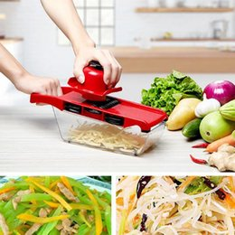 multi slicer dicer Canada - New Kitchen Multi-function Chopper Slicer Vegetable Cutter with Stainless Steel Blade Manual Potato Fruit Peeler Carrot Grater Dicer Tools