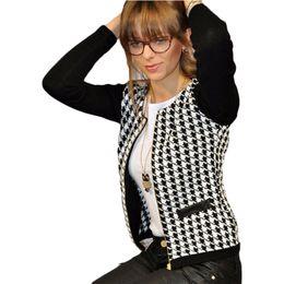 Zippers Wholesalers NZ - Puseky 2017 Hot Autumn Fashion Women Basic Jackets Long Sleeve Zipper Female Jacket Casual Short Cardigan Coat Outwear Plus Size