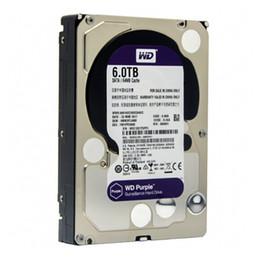 WD Purple 6 TB Festplattenüberwachungsfestplatte - 5400 RPM Klasse SATA 6 Gb / s 64 MB Cache 3,5 Zoll - WD60EJRX