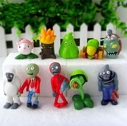 Plant vs zombies figures online shopping - Action Shipping Plants Vs Zombies Toy cm Pvc Collection Plant Zombine Figure Toys Gift Action Figure