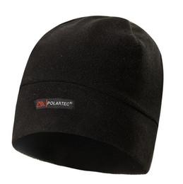 Fleece Beanies Knit Men s Winter Hat Caps Skullies Bonnet Winter Hats For  Men Women Beanie Warm Outdoor Sports Hat Ski Cycling Tactical Hats 52ee39a877dc