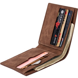 soft genuine leather UK - MENS GENUINE REAL SOFT LEATHER WALLET With LARGE Zip Coin Pocket Pouch Design Money Clips Fashion Designer