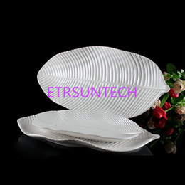 High-Grade A5 Melamine Dinnerware Porcelain White Dinner Plate Banana Leaf Lrregular Dish Western Restaurant Tableware QW7672 & Melamine Plates Wholesale Australia | New Featured Melamine Plates ...