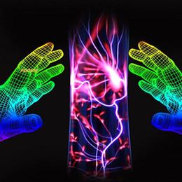 $enCountryForm.capitalKeyWord Australia - Plasma Light Electrostatic Lightning Magic Ball Creative Lamp Novelty Magical Tricks Best Gifts Toys Small waist shape Cylindrical