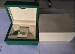 Опт Роскошные высокое качество зеленый ROLEX часы оригинальный футляр документы сумочка карты коробки 0.8 кг для 116610 116660 116710 116500 116520 часы