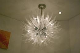 Decorative Art China Australia - Custom Decorative AC LED Blown Glass Chandelier China Factory Outlet Murano Style Art Design Turkish Style Pendant Lamps