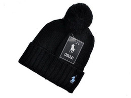 Blank for printing online shopping - 2018 LYLE Beanies Fashion Designer Skull polos Beanies Hats For Adults Men Women Winter Beanie Pom Knit Blank Hip Hop Slouchy Cap A5811