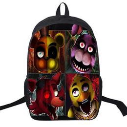 $enCountryForm.capitalKeyWord Canada - Preppy Style Nylon Backpack Schoolbag Adventure Games Designer Five Nights At Freddys Backpack For Teenagers Anime Bear Satchels