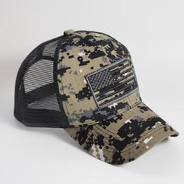 $enCountryForm.capitalKeyWord UK - Digital Camouflager USA Flag Embroidery Cap Brown Olive, Star Stripes Flags Mesh Back Trucker Cap,Dad baseball cap