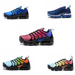 7991eb87c3cc New TN Plus vm Running Shoes Classic Outdoor designer Shoes Air Cushion Shock  Sneakers M vapormax s requin Olive Silver In Metallic