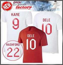 aa0108918 2018 World Cup Angland Jersey ROONEY Beckham RASHFORD  9 KANE STERLING  HENDERSON VARDY Dele Alli WC Soccer Jerseys Football Shirts