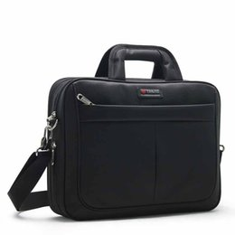 Sac Laptop UK - High Quality Sac Homme Business Man Briefcase Men Bag Oxford Laptop Handbags Boy Large Capacity Waterproof Notebook File Bags