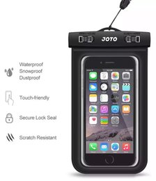 $enCountryForm.capitalKeyWord Australia - Waterproof Bag Case Pouch for iphone 6s Plus Samsung S6 S7 Edge Cellphone Water Proof Cell phone Underwater Pouches Dry Bags with Lanyard