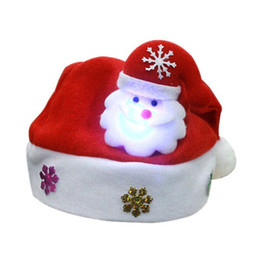 $enCountryForm.capitalKeyWord UK - Adult LED Christmas Hat Santa Claus Reindeer Snowman Xmas Gifts Cap Headband - Soft, Comfortable, Perfect for Working Accessories for Fashio