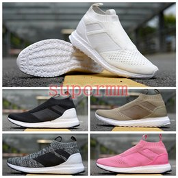 pretty nice b2031 a48b0 2018 ACE 16+ PureControl Ultra Boost Uncaged Running Shoes for Women Men  Trainers High Quality UltraBoost Boosts Athletic Sports Sneakers