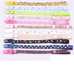pacifier sale wholesale 2019 - Hot sale safe and convenient baby pacifier belt anti falling pacifier chain Newly born infant anti-drop band T3G0104 che