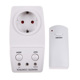 $enCountryForm.capitalKeyWord NZ - wireless Remote Control Outlet Home Appliance Lamp AC Power Remote Telecontrol Outlet Wireless Switch Socket EU US Plug