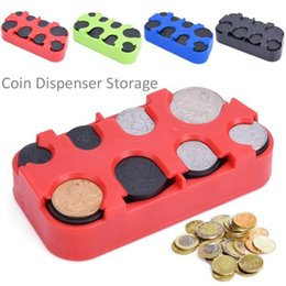 2018 Personalized Storage Boxes Russian Ruble Coin Dispenser Plastic Storage  Box Coin Collection Purse Wallet Organizer