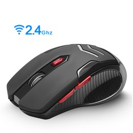 Discount pc mouse design - Rocketek USB Wireless Gaming Mouse 1600 DPI 6 buttons ergonomic design for 2.4G desktop computer accessories Mice gamer