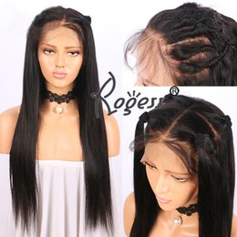 Long Women s Lace front Hair wigs Synthetic Gluess full head hair wig with  baby hair ef1a4b84a0
