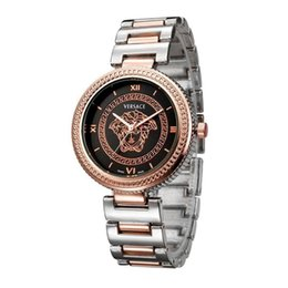 Watches for business online shopping - 2018 HOT AAAA fashion brand casual ladies watch high quality stainless steel headband luxury business ladies quartz watch Gifts for ladies