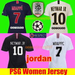 Women football uniform online shopping - TOP PSG soccer jersey paris saint germain women jerseys DANI ALVES MBAPPE CAVANI football shirt VERRATTI DI MARIA uniforms