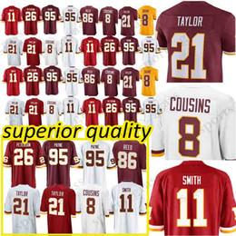 11 Alex Smith Washington Redskins jerseys 26 Adrian Peterson 91 Ryan  Kerrigan 8 Kirk Cousins 21 Sean Taylor 29 Guice 86 Reed jersey 2019 new 1be87f0e3
