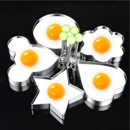 $enCountryForm.capitalKeyWord Canada - Kitchen DIY baking suit thickened stainless steel Fried egg pancake Baking Moulds love cartoon animal bakeware cake model 5 style available