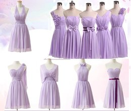 cheap xl wedding dresses NZ - 2018 Cheap Country Short Bridesmaid Dresses 5 Style Modest Wedding Guest Gowns Knee Length Bridesmaids Dress Maid of Honor Under 60