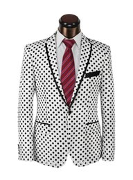 Discount men wedding beautiful suits - Custom Made Beautiful Groom Tuxedos Notched Lapel Back Vent Men Formal Suits Men Wear Wedding Prom Dinner Suits (Jacket+