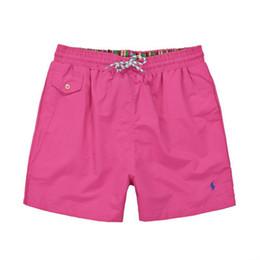 $enCountryForm.capitalKeyWord UK - 2018 Wholesale-Summer Men polo Short Pants Brand Clothing Swimwear Nylon Men Brand Beach Shorts small horse polo Swimming Wear Board Shorts