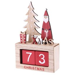 Vintage Office Accessories Online Shopping   1PC Wood Calender Perpetual  Vintage Manual Desk Accessory Desktop Calendar