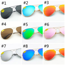 Wholesale High Quality Classic Pilot Sunglasses Designer Brand Mens Womens Sun Glasses Eyewear Gold Metal Green mm mm Glass Lenses black Case