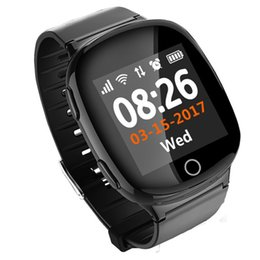 Quality The Old Smart Watch Health Blood Pressure Heart Rate Gps Wifi Base Triple Locations Anti-lost Sos One Button Seeking Help Watch Superior In