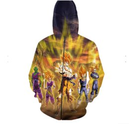 $enCountryForm.capitalKeyWord UK - Wholesale- Newest Fashion Womens Mens Dragon Ball Z Goku Funny 3d Print Zipper Jumper Sweatshirt Hoodies Free Shipping LL027