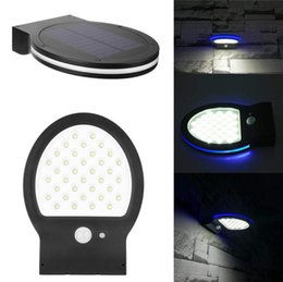 gate lamp lights lighting 2019 - 36LED Solar Lamp 3 Modes Super Bright Outdoor Waterproof Solar Wall Light Garden Yard Streets Gates Courtyards Lamp Nigh