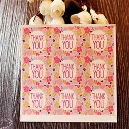 $enCountryForm.capitalKeyWord Canada - 9pc set sealing sticker for candy cookie box bag chocolate paper gift package Birthday Wedding Party favor DIY flower thank you