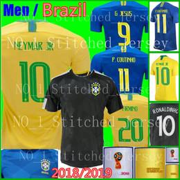 ... brasil soccer jerseys 2018 world cup men women brazil jersey training  jesus coutinho firmino footbal 448e1beac