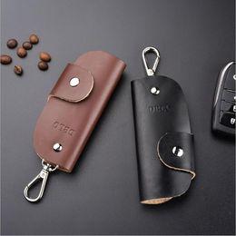 $enCountryForm.capitalKeyWord NZ - Fashion Gifts Keys Holder Organizer ger Leather Buckle Key Wallet Case Car Keychain For Women Men Brand DHL Free Shipping